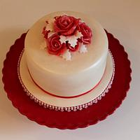 Christmas Cake for my Aunty and family