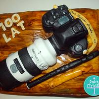 Sony Camera Cake!