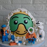 Lego Arctic Cake