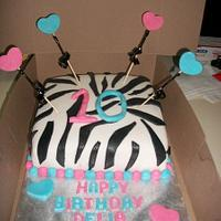 Zebra 10th Birthday