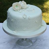 Fresh Mint Birthday Cake