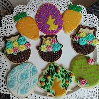 Spring and easter cookies