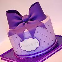 Big Purple Bow!