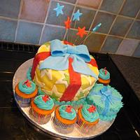 Presents Cake by silky_nics