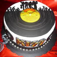 "KISS ""Destroyer"" cake"