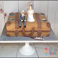 Vintage Wedding Suitcase