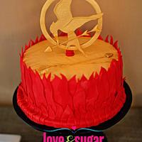 Hunger Games Cake by Maria Davis