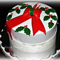 White Christmas Cake by My Cake Sweet Dreams