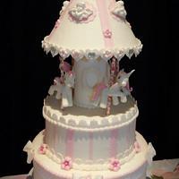 carroussel cake