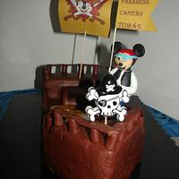 Pirate Mickey Mouse