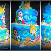 bubble guppies cake by aani by Aani