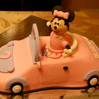 Minnie Mouse Cake!