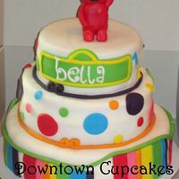 Elmo Birthday Cake for Bella!!!