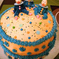 My First Decorated Cake (March 2012)