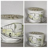 Travelling bus by Anka