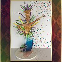 Carnival Cakers - sugar showpiece