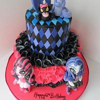 Monster High 6th Birthday Cake by Denise Frenette