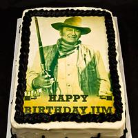 John Wayne Birthday Cake