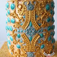 """Couture Cakers International 2018 - """"Jewel""""  by Cláud' Art Sugar"""