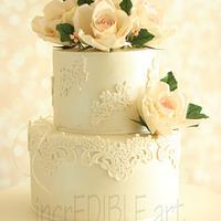 Sweet Romance- Wedding Cake