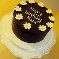 Daisy Mud Cake