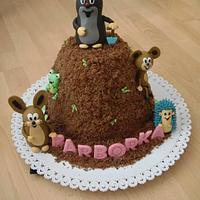 Mole and Friends cake