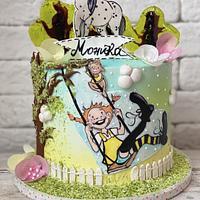 Pipi Longstocking Cake