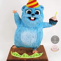 Lemming 3D Birthday Cake