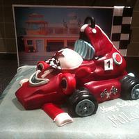 car cake by mick