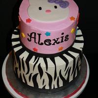 Hello Kitty/Zebra