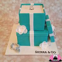 Tiffany Ring Box Bridal Shower
