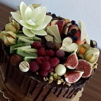 Fruit and chocolate