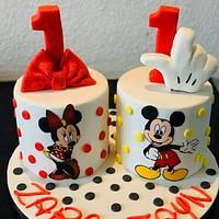Twins cake