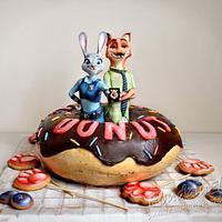 3D cake - Zootopia