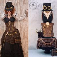 SteampunkCouture Cake