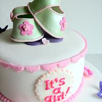 Baby shower Cake  by Elisa's Sweet Cakes