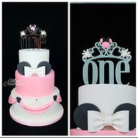 Minnie cake princesse
