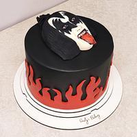 The Demon/KISS/ Gene Simmons cake