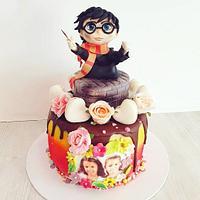 Harry potter cake girly🤓