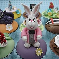 White Rabbit from Alice in Wonderland 2nd Edition by DarcysCupcakes