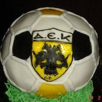 3D ball cake