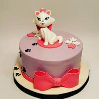 Sweet cat for mammy