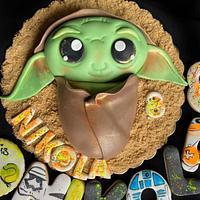Baby Yoda by Mira Mihaylova