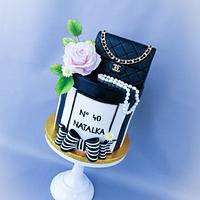 Chanel cake by Mischell