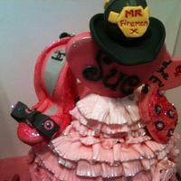 Sex & the City Cake