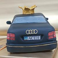 Audi A8 cake