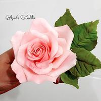 Rosa de azúcar 😊