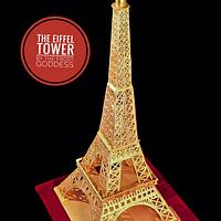 The Eiffel tower(3.5 ft tall)