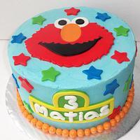 """Elmo's birthday cake"""