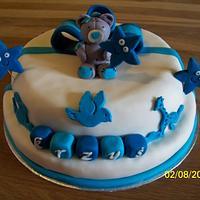 Cake for baptism.